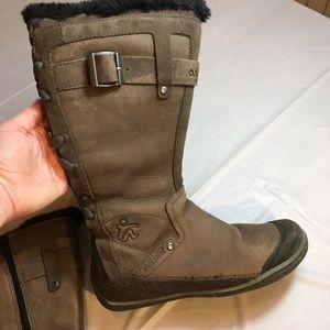 Cushe Manuka Fawn Dark Grey/Brown Waterproof Boots